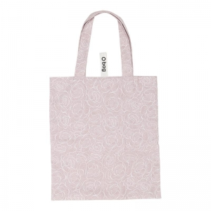 O bag shopper | Tessuto stampato | Peonia