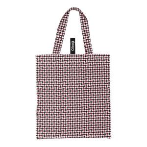 O bag shopper | Tessuto stampato | Pied de poule