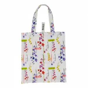 O bag shopper | Tessuto stampato | Oriental flowers