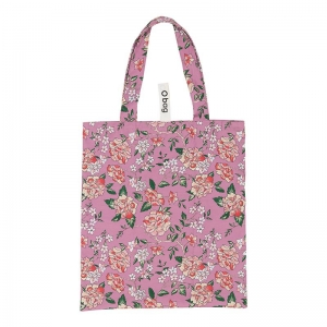 O bag shopper | Tessuto stampato | Freesia flowers