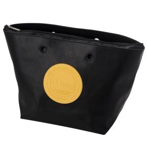 O bag Daisy Ecopelle patch Nero