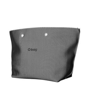 O bag Daisy Tessuto mesh Bianco/nero