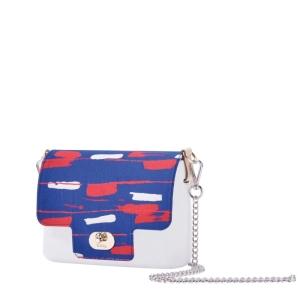 Klapka O Pocket   Luxury dripping   Bluette/Rosso