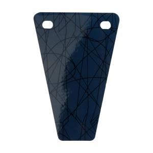 Klapa O city   Vernice geometrica   Blu