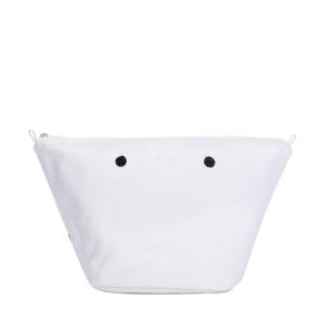 Organizer O bag Knit Canvas Bianco