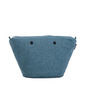 Organizer O bag Knit Tweed unito Atlantic