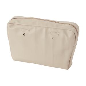 Organizer O bag urban simil pelle nappa Sabbia