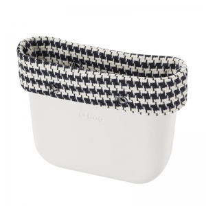 Opaska Obag Mini Geometric pied de poule Blu Navy/Latte
