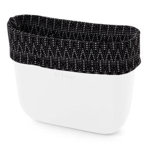Opaska Obag Mini   Optical dots   Bianco/nero