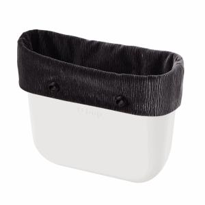 Opaska Obag Mini | Velluto plisse | Grigio chiaro