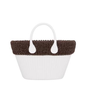Opaska Obag Knit Mini Lana treccia mouline Chocolate