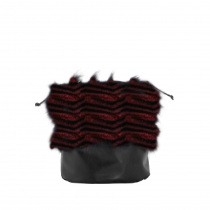 Worek wewnętrzny | O Basket |  Spigato porpora/blu navy