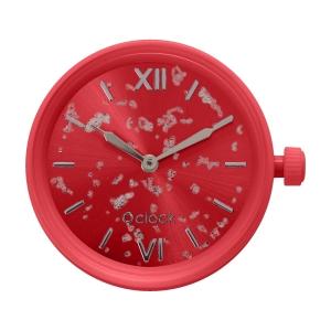 Mechanizm zegarka O clock silver leaf Granatina