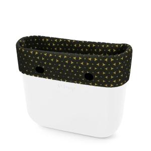 Opaska | Mini O bag | Feltro bicolor giallo/verde scuro