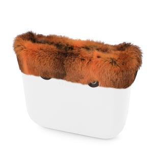 Opaska Futro naturalne Mini o bag lapin zucca