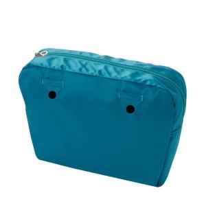 Organizer O bag standard nylon lucido Blue grass