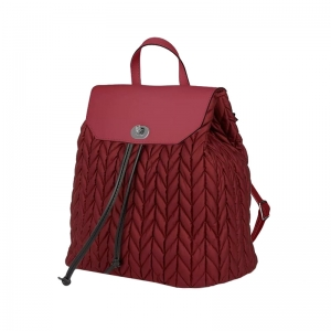 Plecak O Bag Soft Ride Spigato+ Pattina Bordeaux