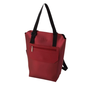 Plecak O bag travel W217 Bordeaux metal