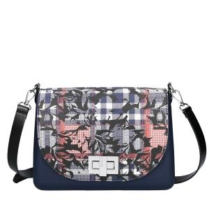 Torebka O bag glam Blu navy
