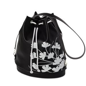 Plecak O bag tote marigold Bianco nero